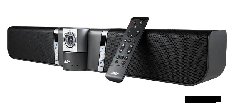 Kamera 4K och högtalare till konferens
