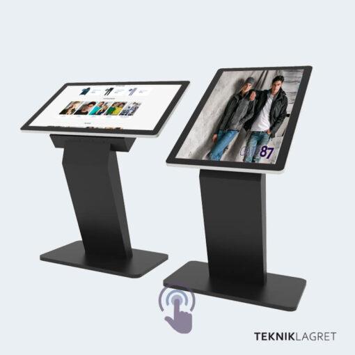 Touchscreen PCAP med golvstativ Tekniklagret